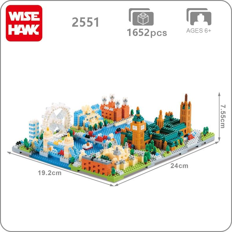 Wise Hawk 2551 Large London Eye City Mini