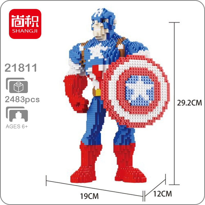 Balody 21810 Avengers Captain America XL