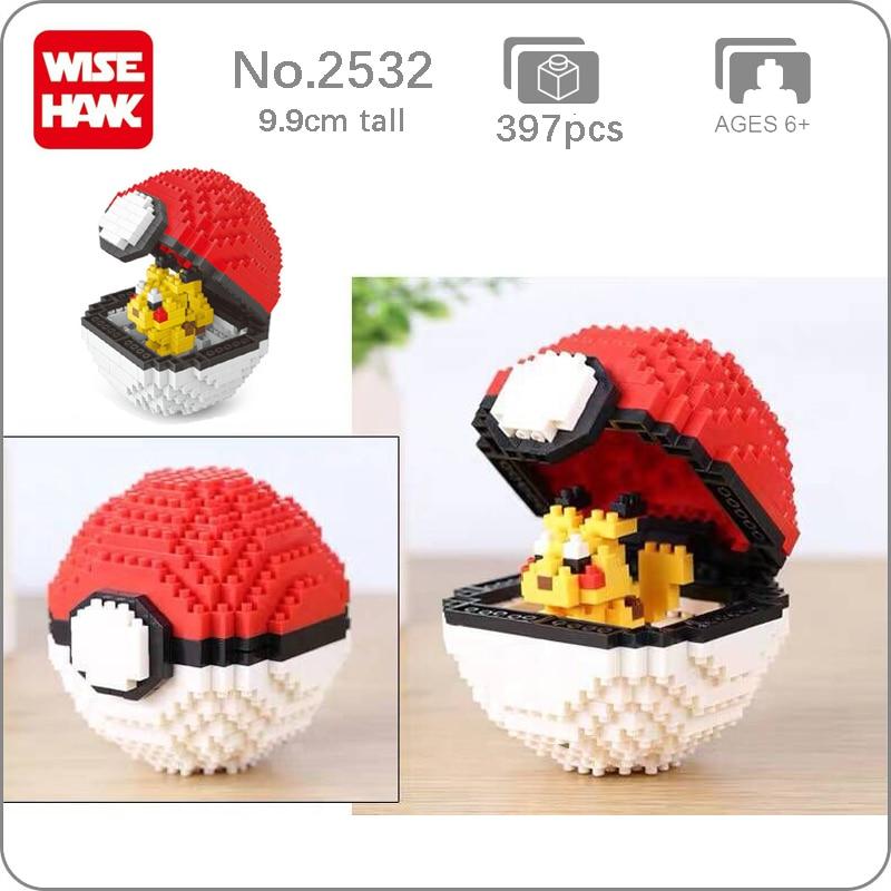 Balody 2532 Medium Pocket Monster Red Ball