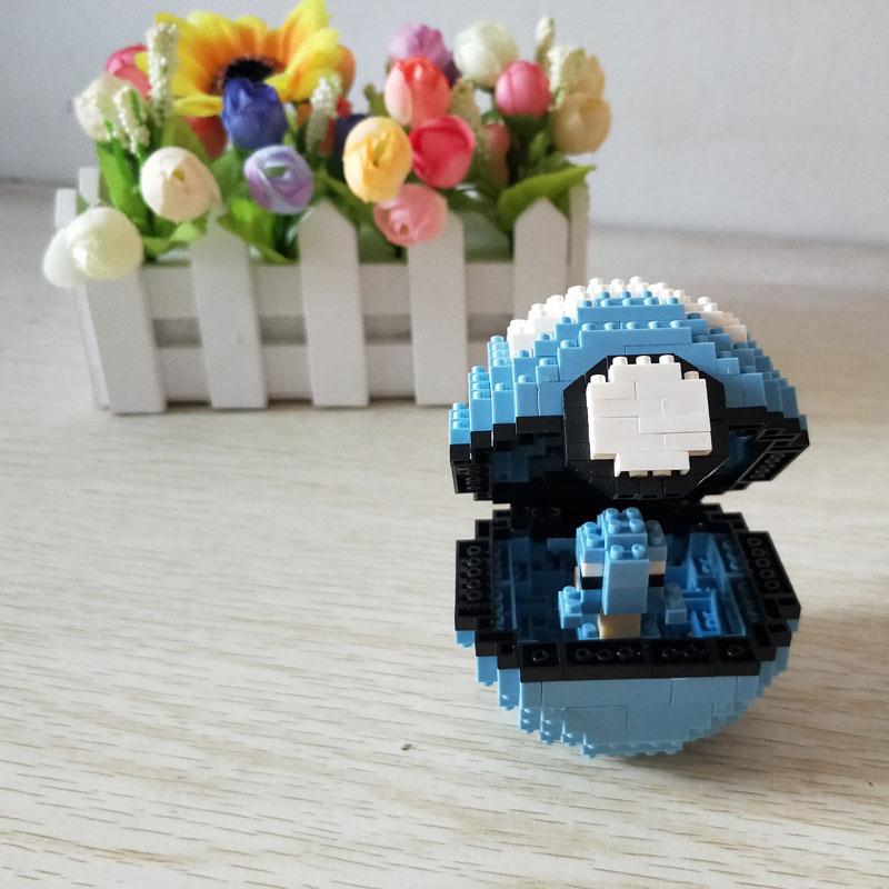 Wise Hawk 2533 Medium Pocket Squirtle Monster Blue Dive Ball