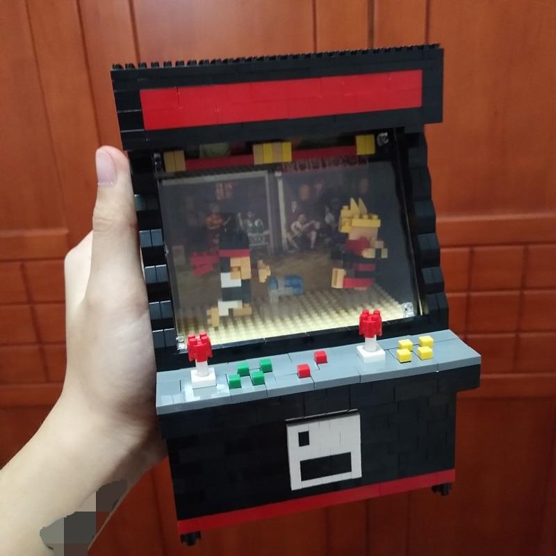 Balody 7808 Black 3D Game Fighter Machine