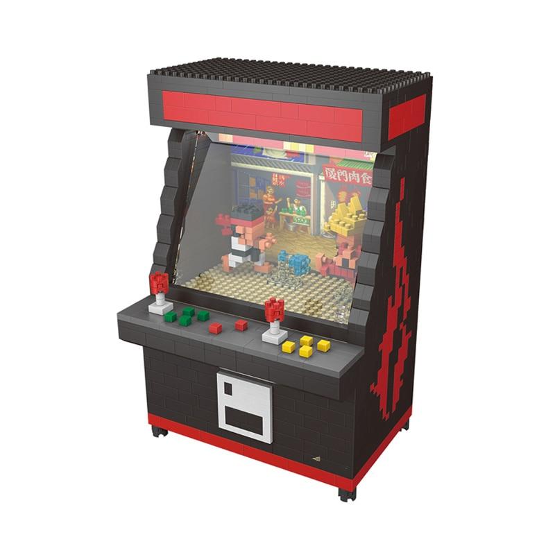 ZRK 7808 Black 3D Game Fighter Machine