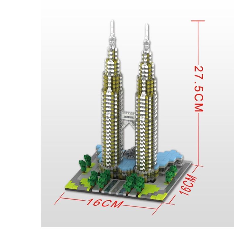 YZ 057 Large  Kuala Lampur Petronas Tower