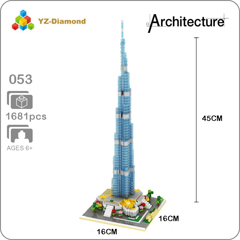 YZ 053 Large Burj Khalifa Tower