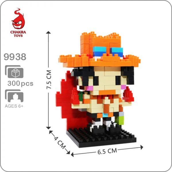 CHAKRA9938 Mini One Piece Portgas D. Ace