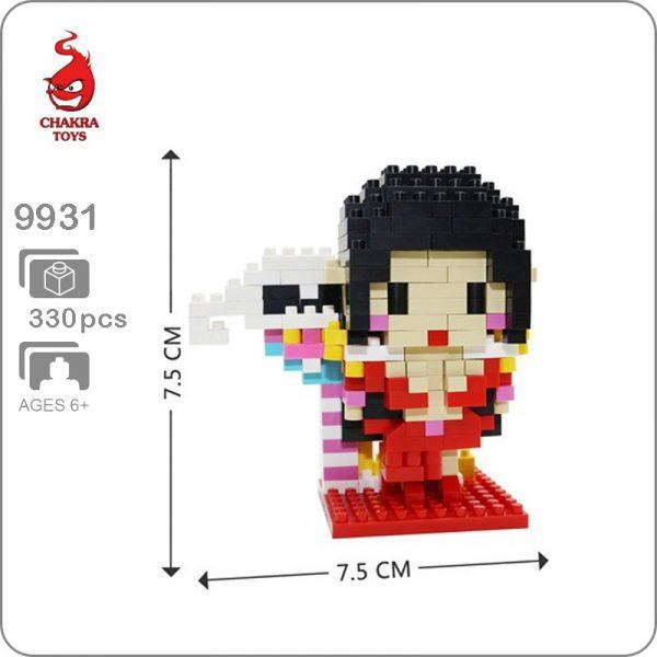 CHAKRA 9931 Mini One Piece Boa Hancock