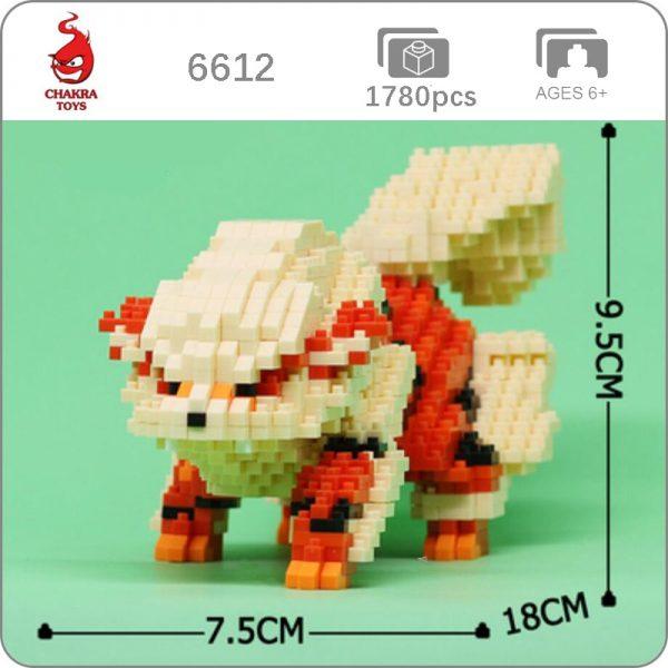 CHAKRA 6612 Medium Pokémon Arcanine Dog
