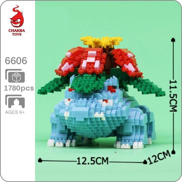 Balody 6606 Medium Pokémon Venusaur