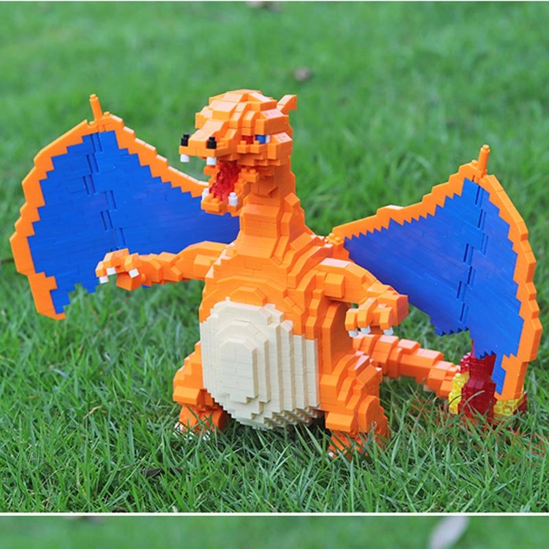 CHAKRA 6608 Large Pokémon Charizard Dragon