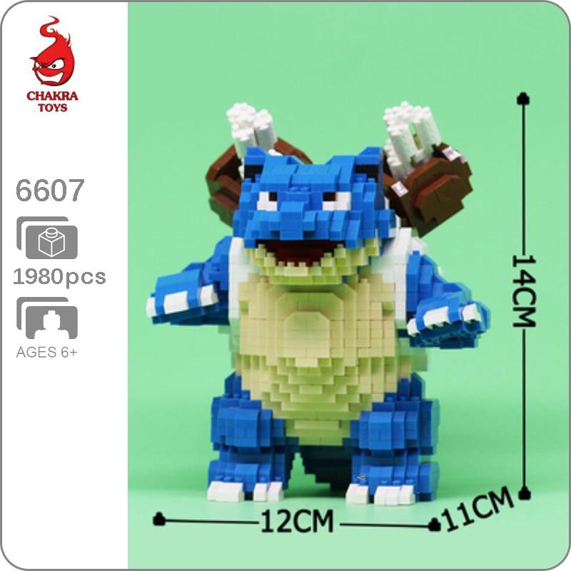 CHAKRA 6607 Large Pokémon Blastoise Turtle