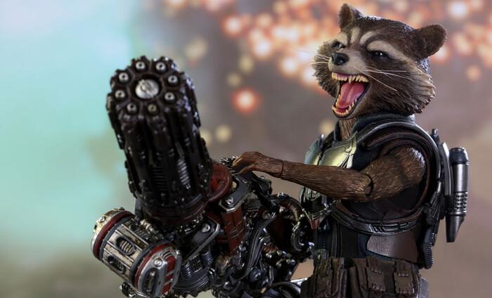 Shangji 21819 Avengers Rocket Raccoon XL