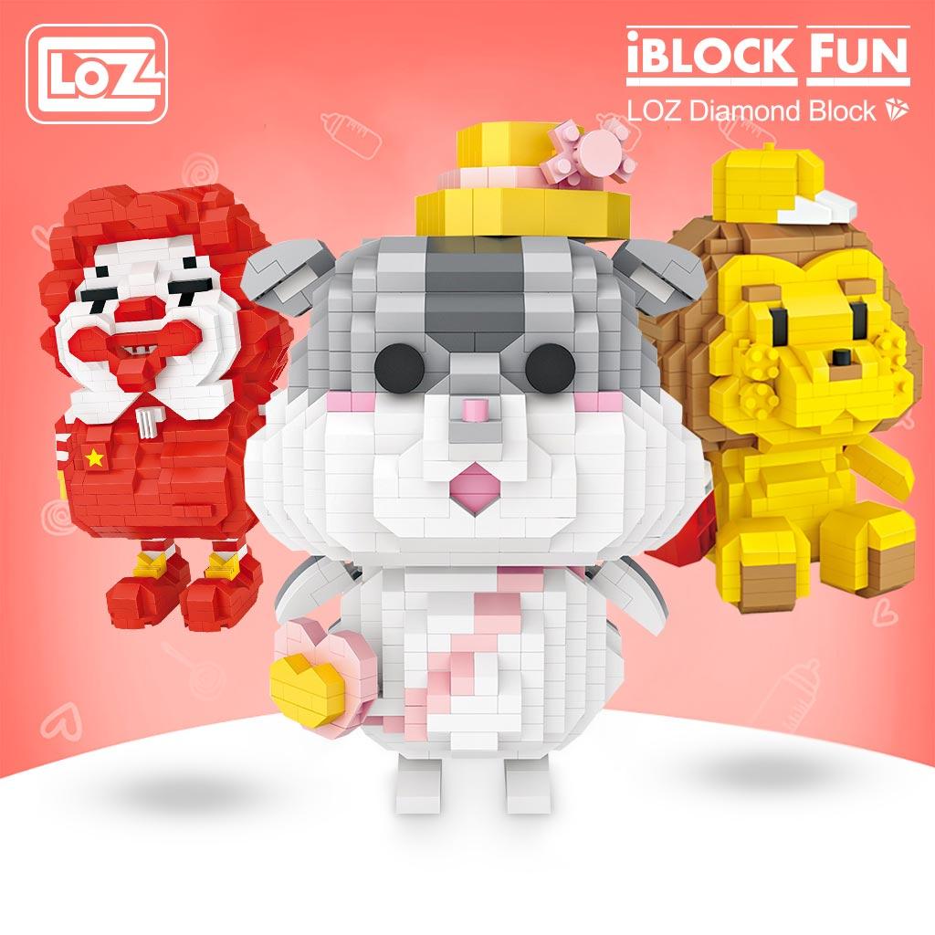 LOZ 9206-9236 Cute Cartoon Series