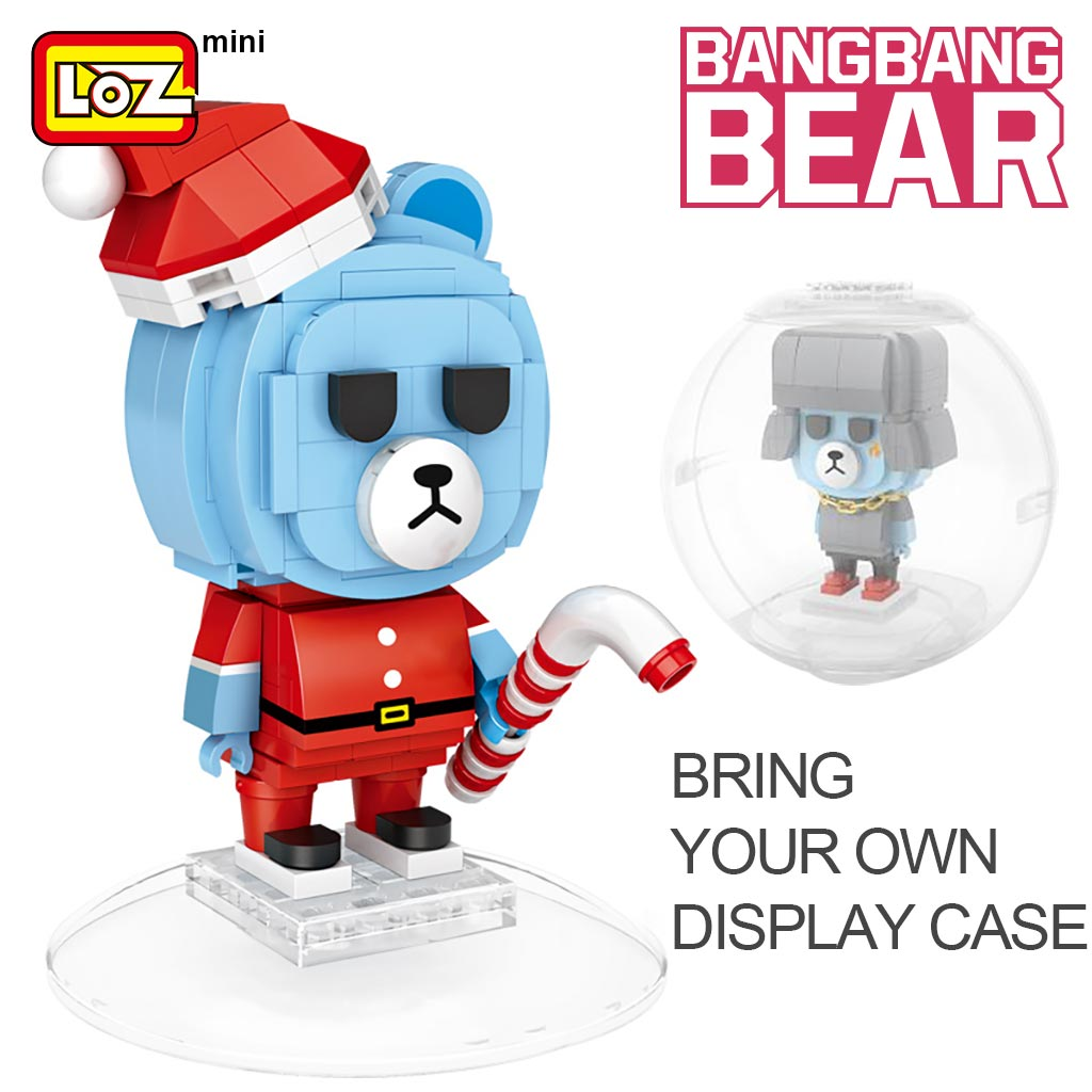 LOZ 1311 Blind Egg Box BangBang Bear Mini Blocks