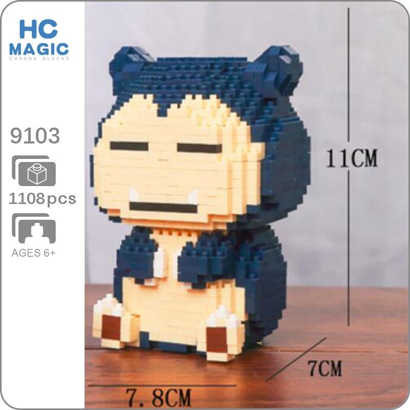 HC Magic 9103 Snorlax Sitting