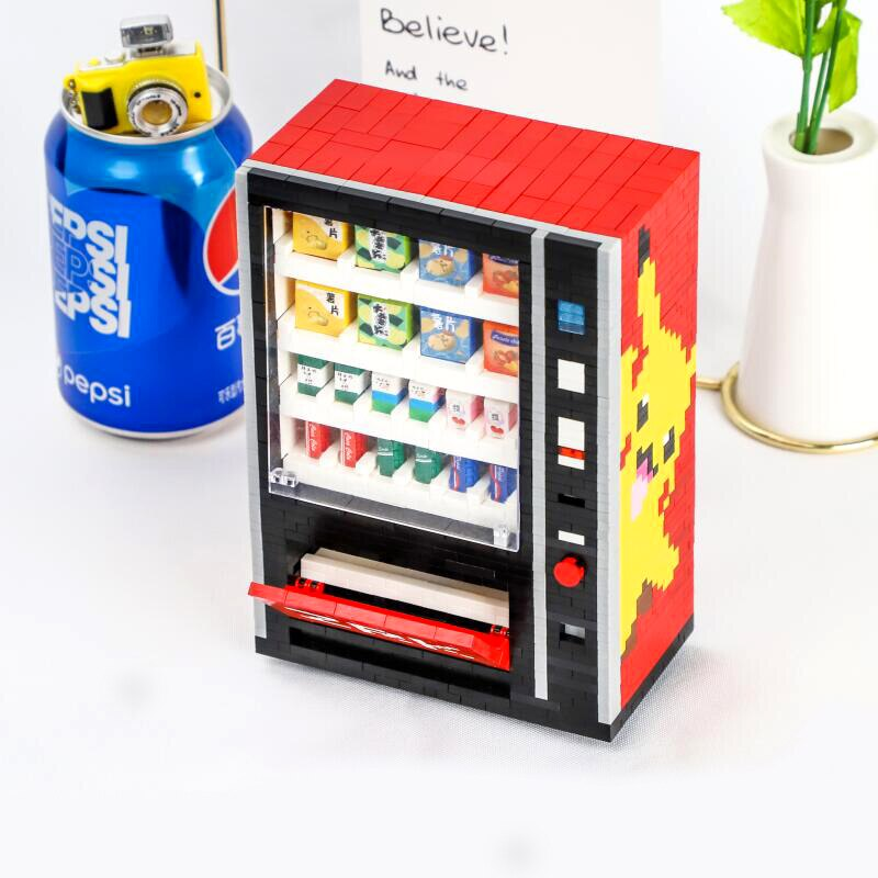 ZRK 7823 Pikachu Drinks Vending Machine