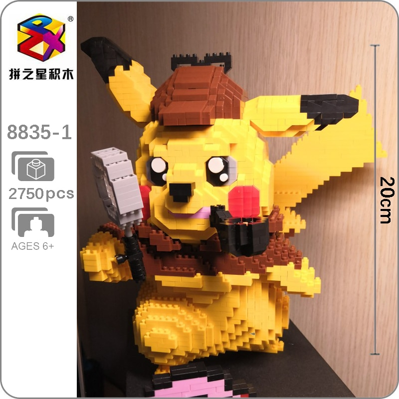 BS 8835-1 Detective Pikachu Mini Bricks