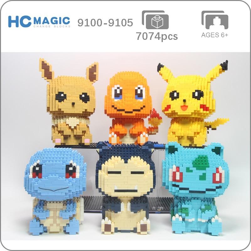 HC Magic 9100-9105 Pocket Monster Sitting Set