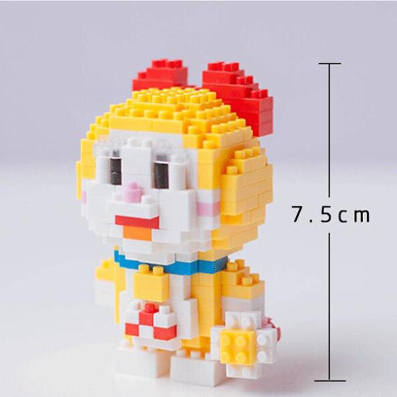 BOYU 7005 Doraemi In Series Stand By Me Doraemon Mini Bricks