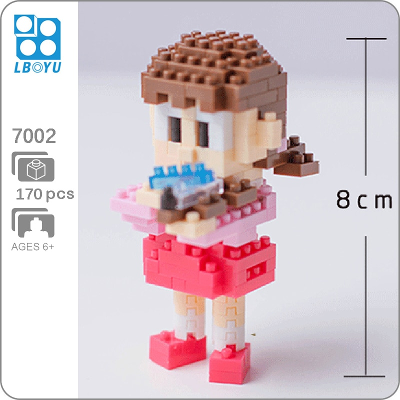 BOYU 7002 Shizuka In Series Stand By Me Doraemon Mini Bricks