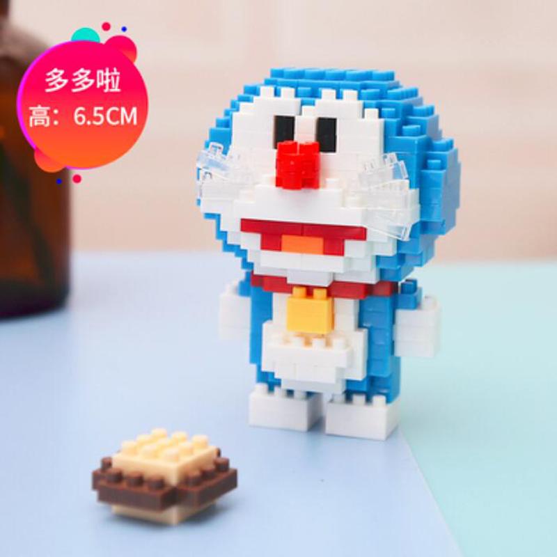 BOYU 7000 Doraemon In Series Stand By Me Doraemon Mini Bricks