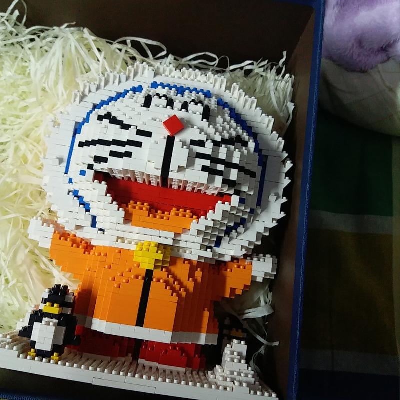ZMS 3524 3525 3526 Doraemon Series Bundle Mini Bricks