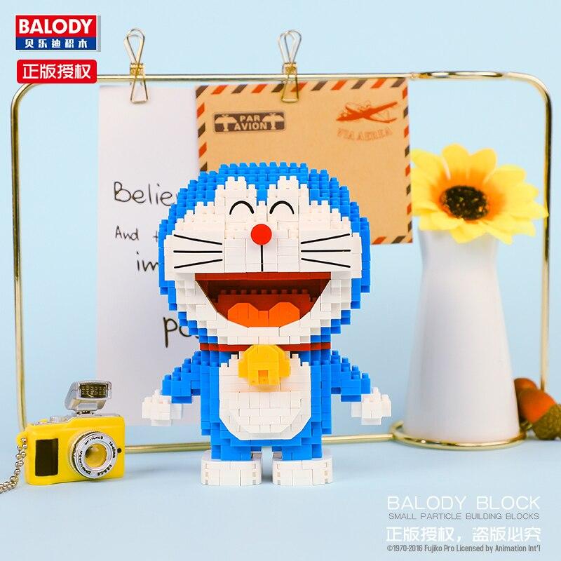 BALODY 16130 Doraemon Stand Mini Bricks