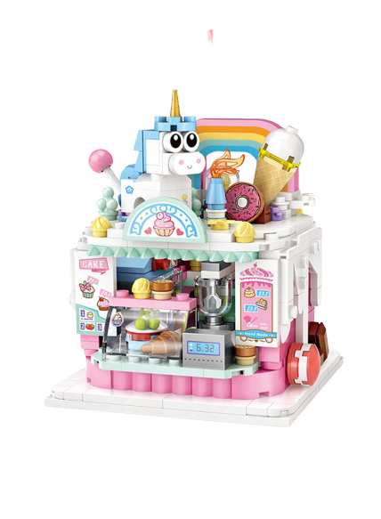 LOZ 1731 Cake Shop Building Blocks