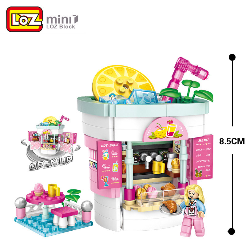 LOZ 1729 Beverage Shop Building Blocks