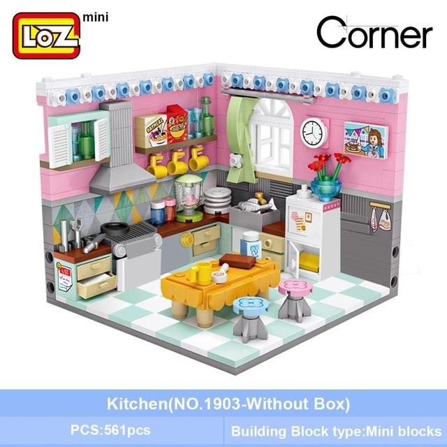 LOZ 1903 Kitchen Mini Bricks