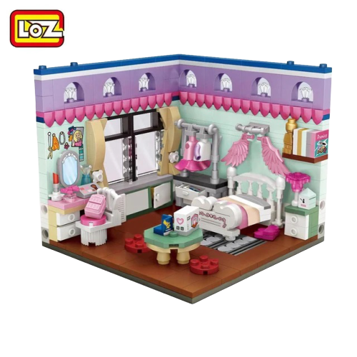 LOZ 1902 Bedroom Mini Bricks