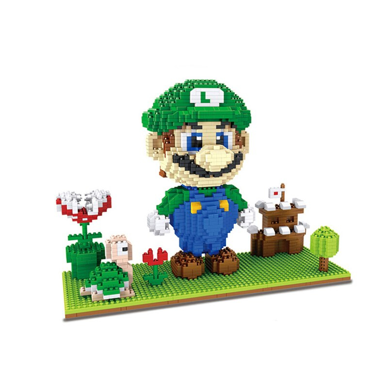 HC Magic 1031 Super Mario with Luigi Castle and Goomba