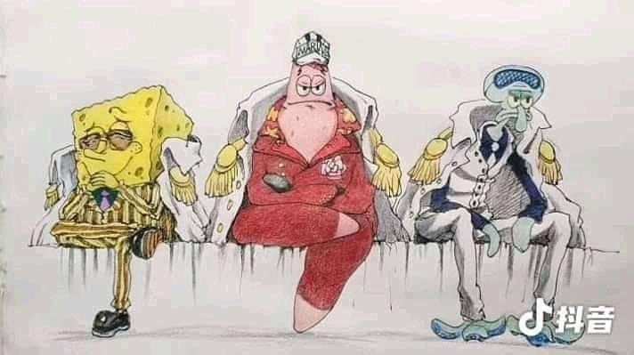SC 111-113 One Piece Admirals