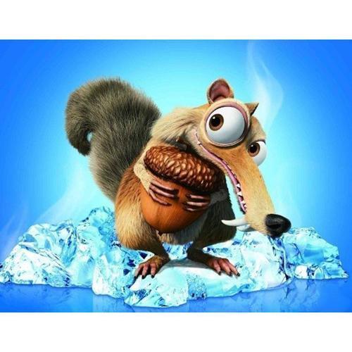 GPKSTAR 6709 Squirrel Nibble Oak