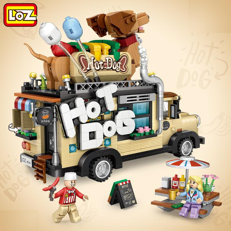 LOZ 1116 Hot Dog Car