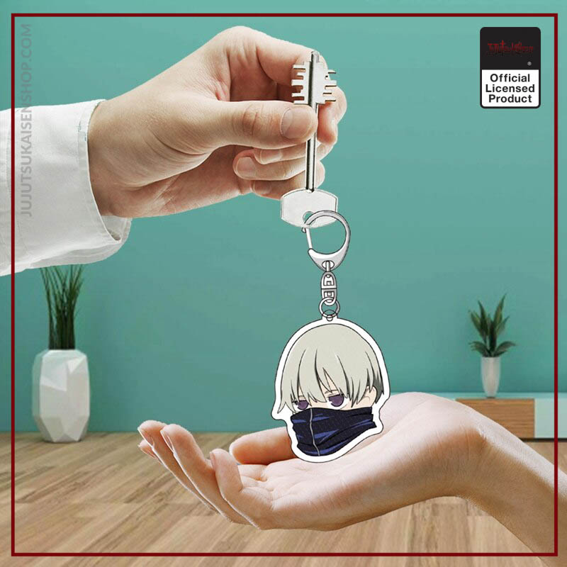 Jujutsu Kaisen Yuji Itadori Kugisaki Nobara Acrylic Keychain Key Rings Badge 3 - Jujutsu Kaisen Shop