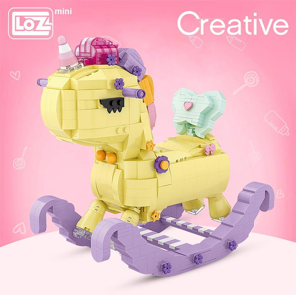 LOZ 1222 Rocking Horse