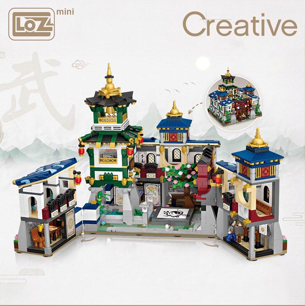 LOZ 1032 Kung Fu Jingwu Museum
