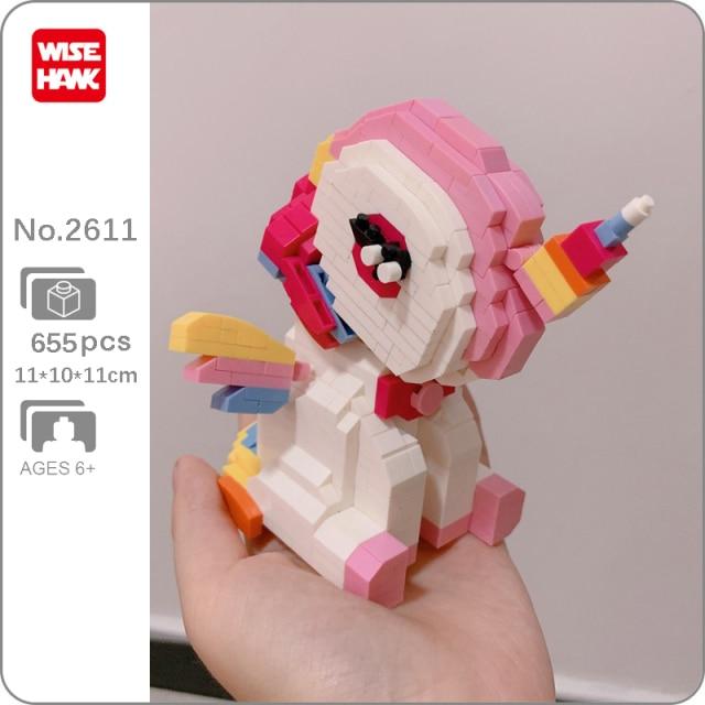 Wise Hawk 2611 Rainbow Wings Unicon