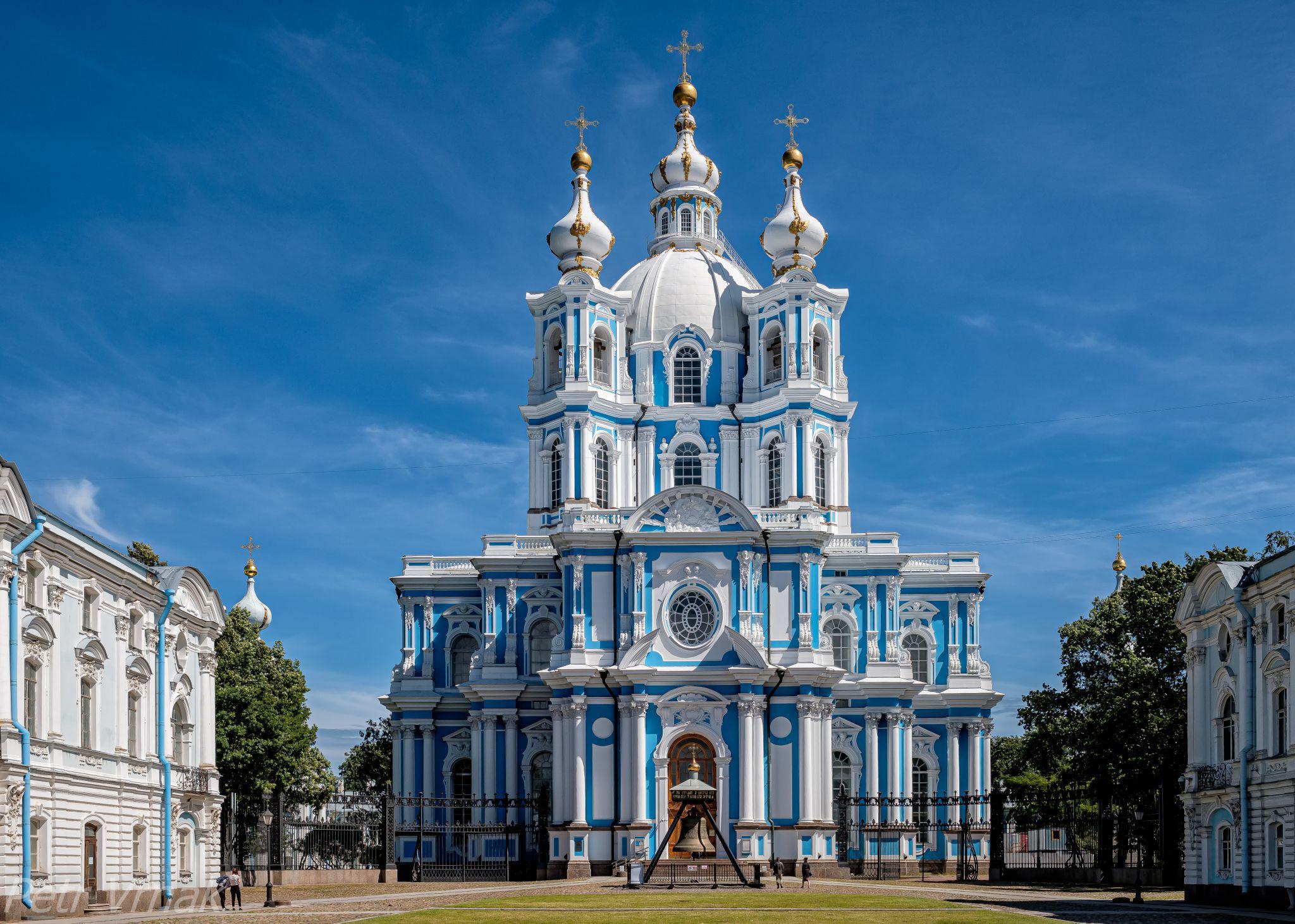 Lezi 8042 Smolny Monastery Church