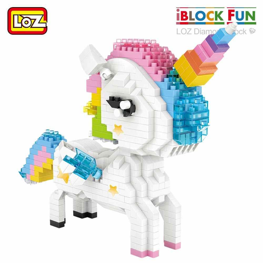 LOZ 9204 White Unicon