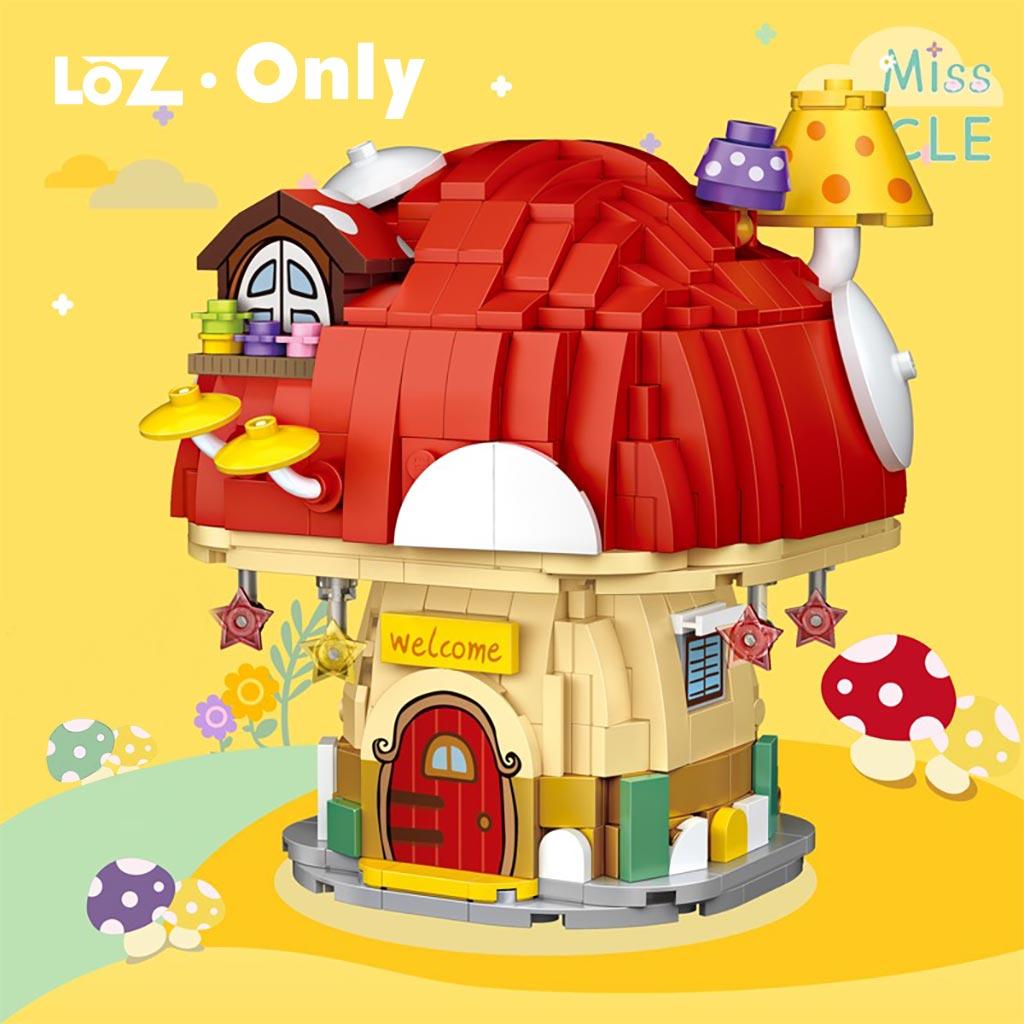 LOZ 4103-4104 Mushroom House and Sunflower Room
