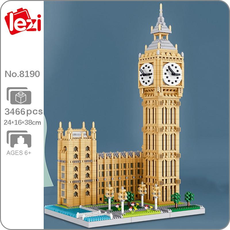 Lezi 8190 Elizabeth Tower Big Ben