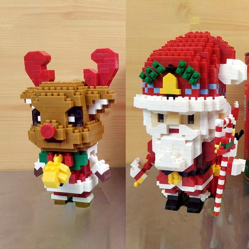 MCO JR 01-02 Xmas Father Christmas Santa Claus and Elk Reindeer Deer