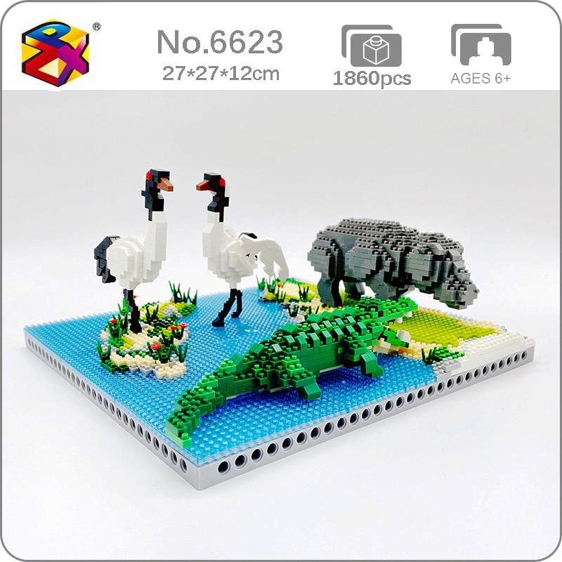 PZX 6623 Swamp Animals