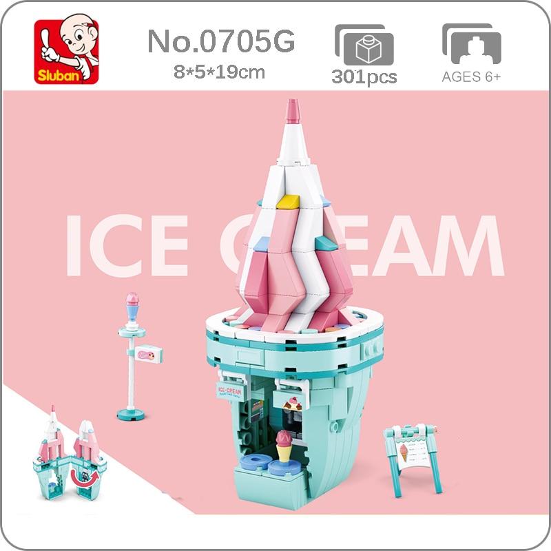 Sluban B0705G Ice Cream Shop
