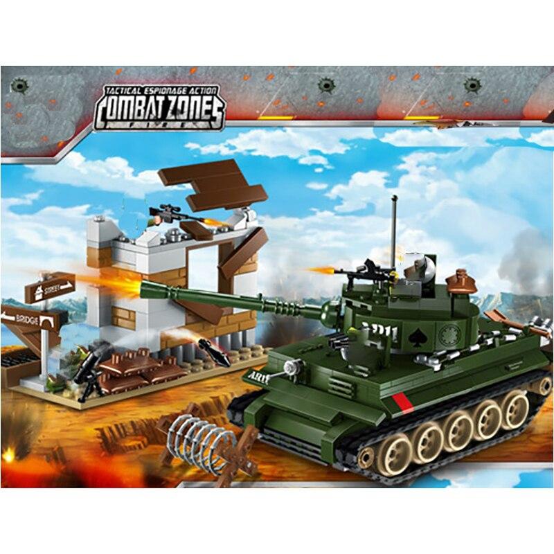 Enlighten 1711 Battlefield Series: Tank Counterattack