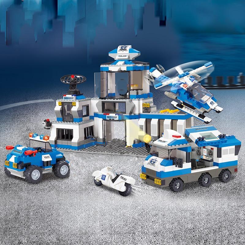 Sluban B0193 Police Station