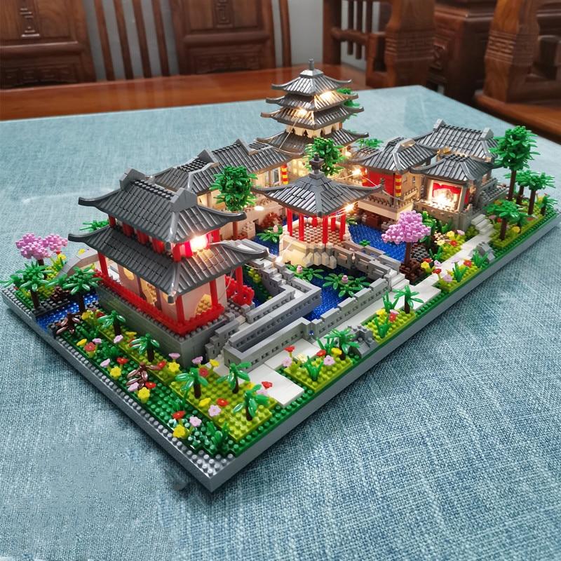 Lezi 8202 Ancient Chinese Yard