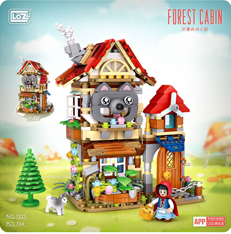 LOZ 1225-1226 Fairy Tale House