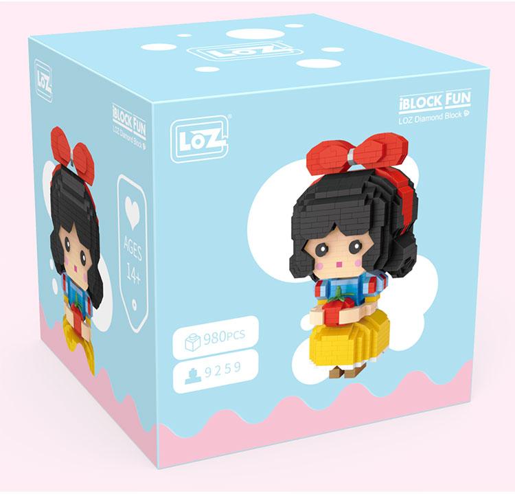 LOZ 9247-9259 Fairy Tale Princess